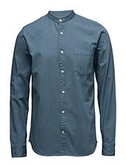 Trostol Denim shirt - CHAMBREY BLUE