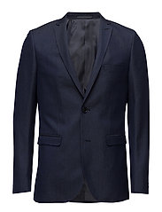 George F Texture Suit - DARK NAVY