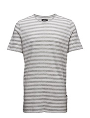 Clive Clean Stripe - LT GREY MELANGE