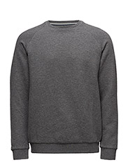 Ray Quilted sweat - MED.GREY MELANGE