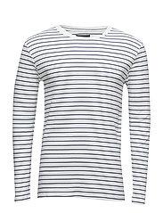 Cliff Oli stripe - WHITE