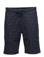 Lobo basic Indego shorts - TINTED NAVY
