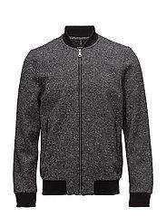 Ronald Work Wear with zipper - BLACK
