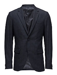George Small Check - TINTED NAVY