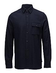 Barto Wool shirt - DARK NAVY