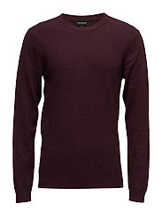 Triton Cotton knit - DEEP WINE