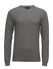 Triton Cotton knit - MED.GREY MELANGE
