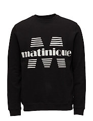 Drake Sweat Melange Jersey - BLACK