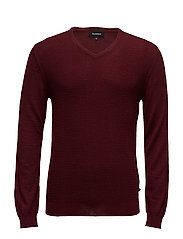 Mathew Knit pullover - CABERNET