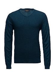 Mathew Knit pullover - OPAL BLUE
