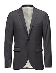 George F Dark Shadow Stretch Suit - DARK SHADOW