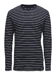Claude Oli Stripe - DARK NAVY