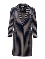 DOPPIERE - BLUE AND NATURAL STRIPES