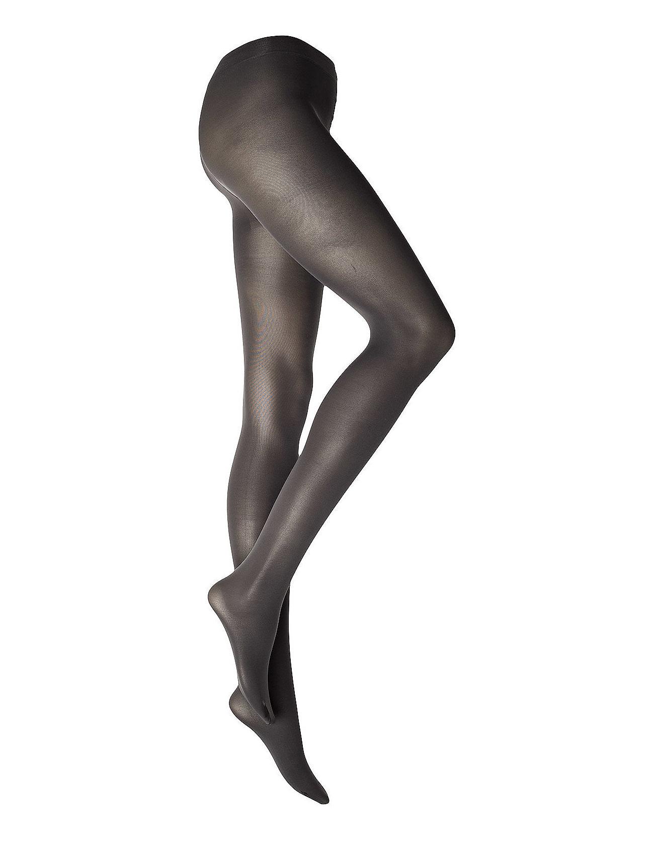 Lisbona Max Mara Hosiery Strømpebukser til Kvinder i Antracit grå