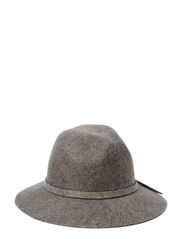 Felt hat with knot - Greys