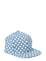Dotted cap - Blue
