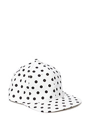 Dotted cap - White