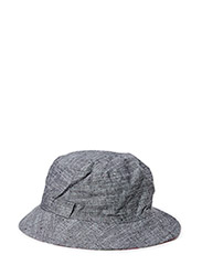 Reversible summer bucket hat - Black