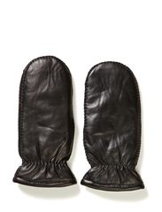 Leather mitten - Blacks