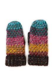 Tight knitted multi mittens - Multi colored or HEAVILY patterned, please avoid unless completely impossible to pick one of the oth