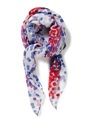 Maya Different col. dotted scarf