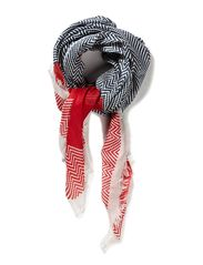 Maya Nice sailor scarf w raw edges