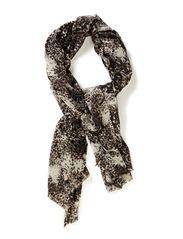 Whirly animal scarf - Greys