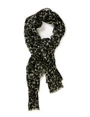 Enhanced flower scarf - Blacks