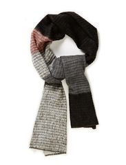 Multi stripe scarf - Blacks