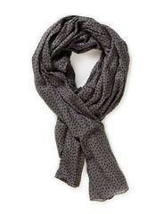 Tiny hearts scarf - Greys