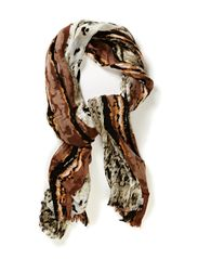 Autumn shade scarf - Browns