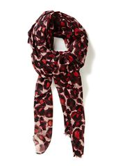 Clean animal scarf - Reds