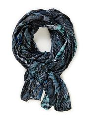 Reptile scarf - Blues