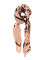 Skull scarf w sequins - Off White