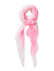 Scarf with dip dye - Rose