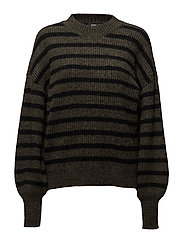 Rich - FOREST BLACK STRIPE