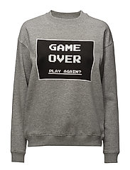 Game Over - LIGHT GREY MELANGE