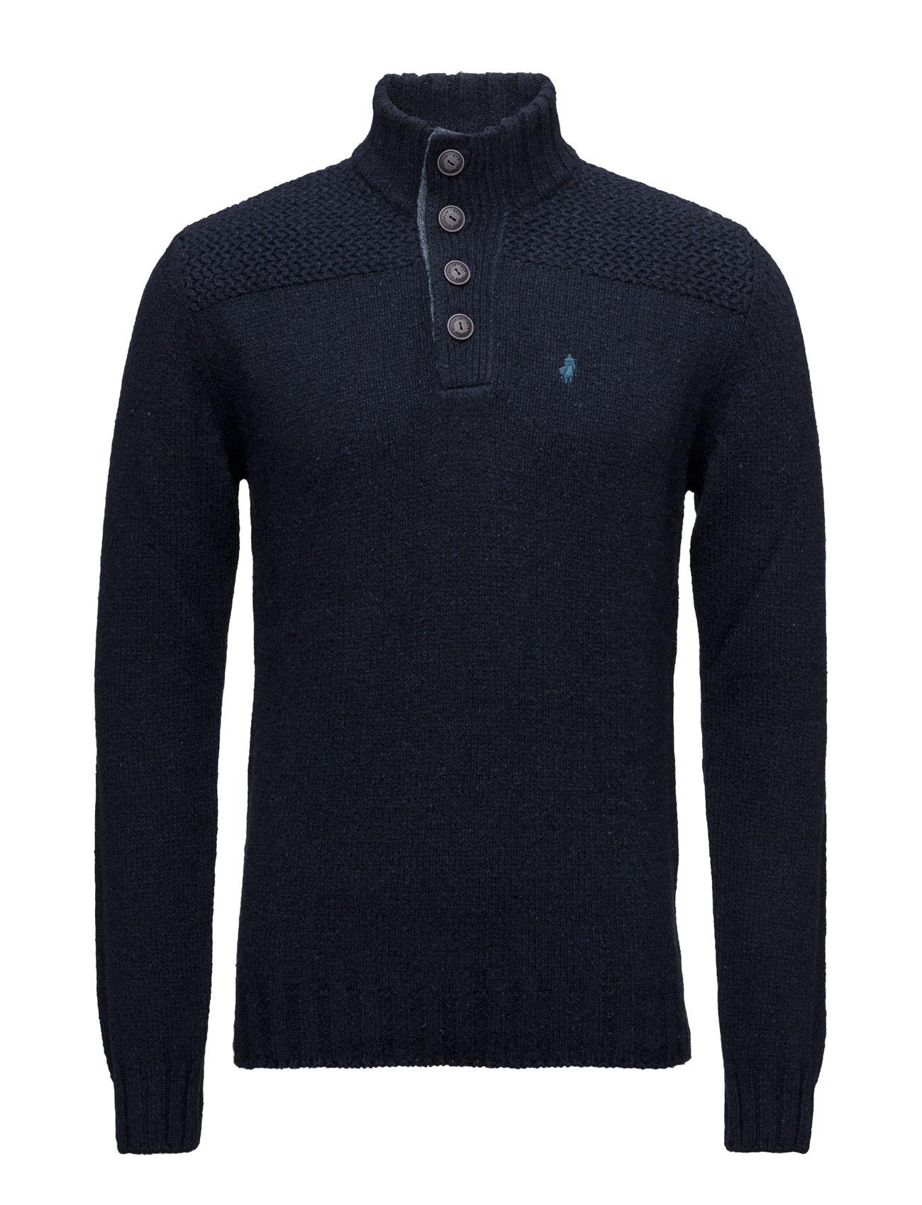 Blouson-Jacket-Mmm MCS Højhalsede til Mænd i Marine blå