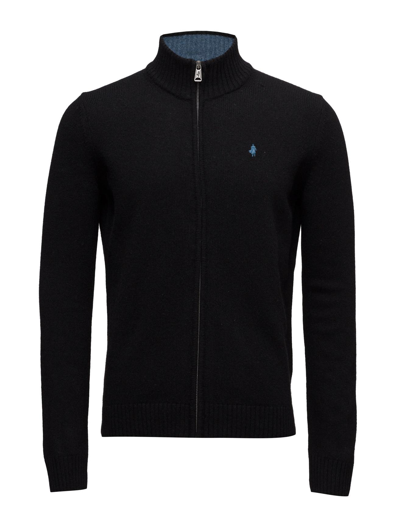 Blouson-Jacket-Mmm MCS Cardigans til Mænd i Marine blå