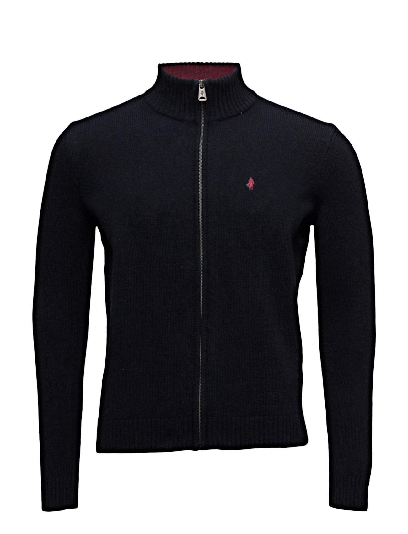 Blouson-Jacket-Mmm MCS Cardigans til Herrer i Marine blå