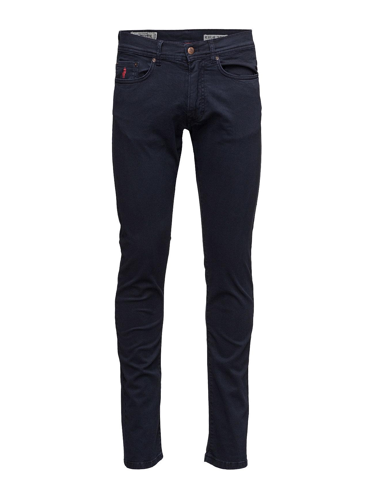 5-Pockets-Mmm MCS Jeans til Mænd i Mørkeblå