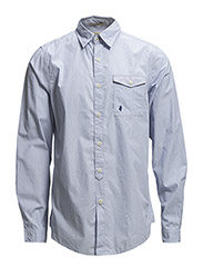 SHIRT - Blue striped