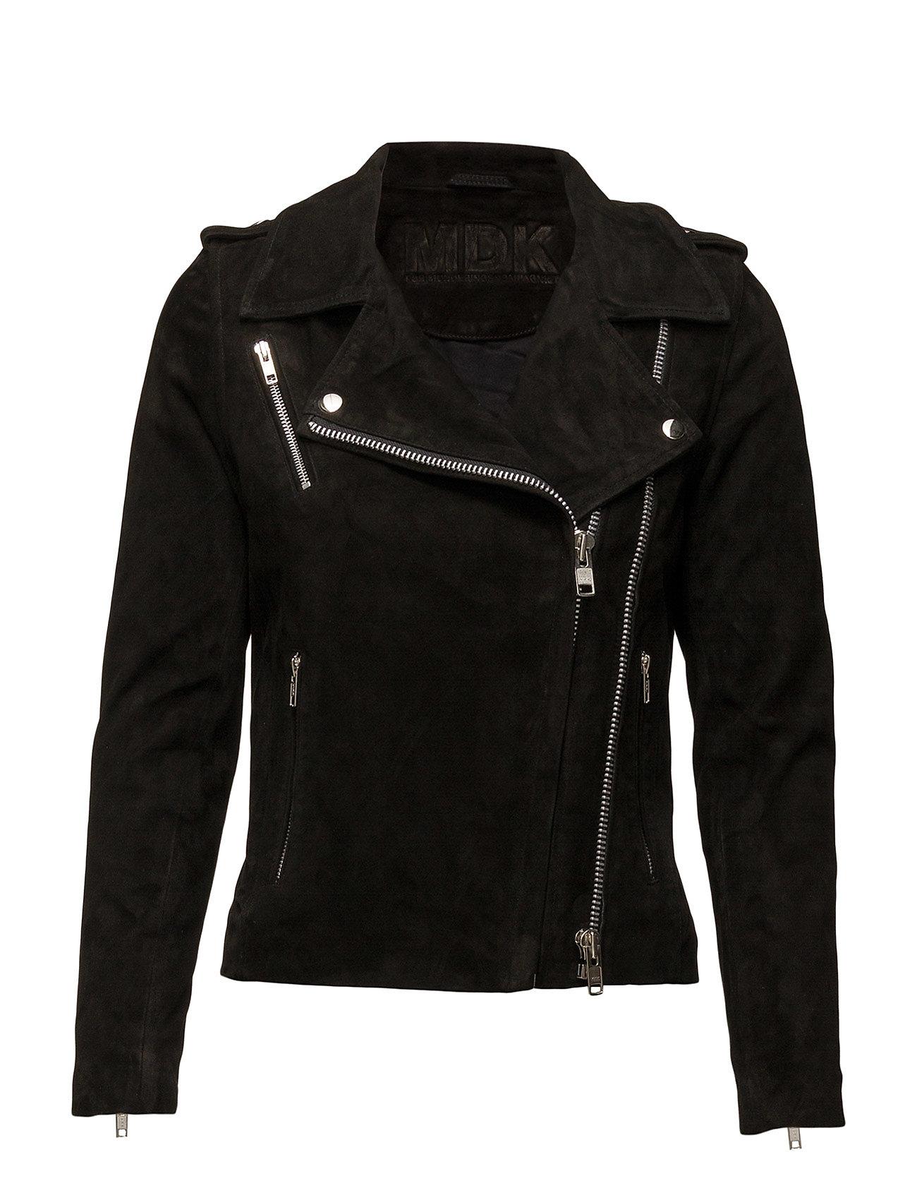 Viola Suede Jacket (Black) MDK / Munderingskompagniet Jakker til Damer i