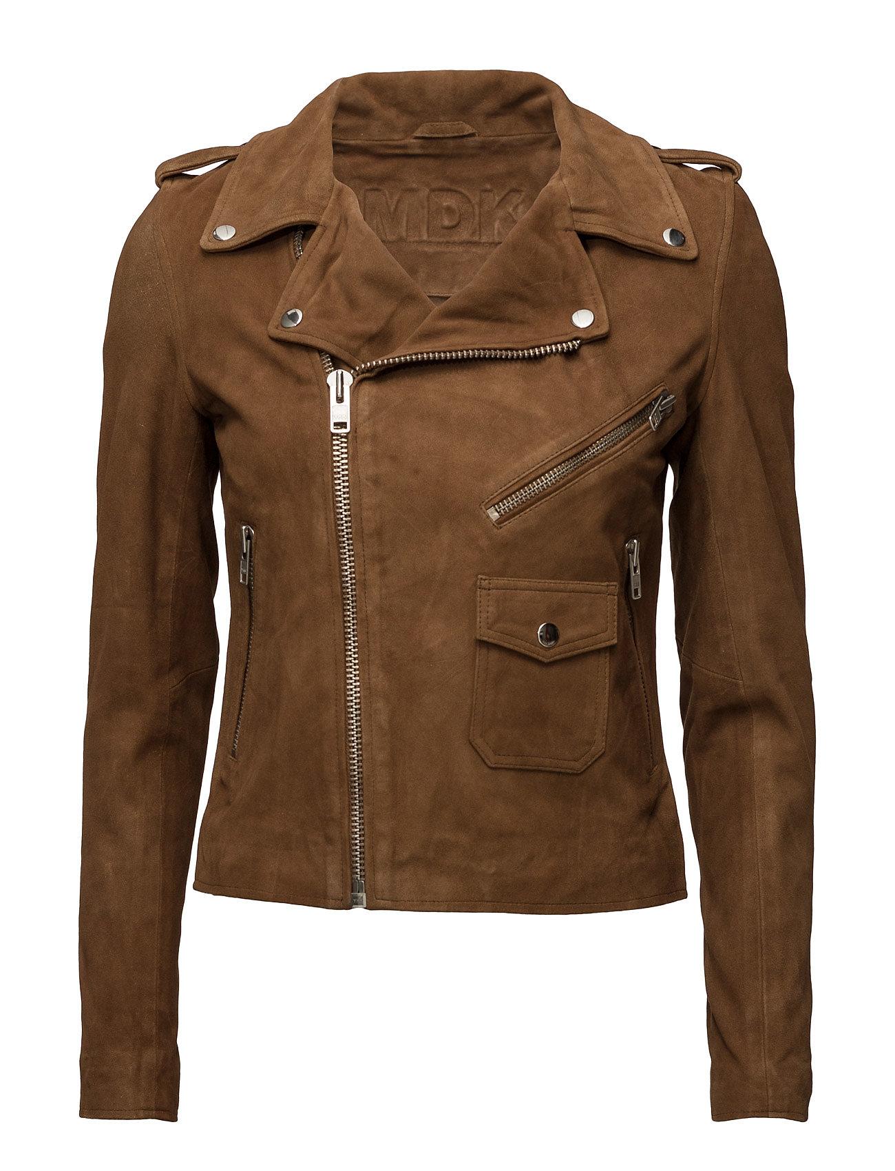2eb2f1d2ceed De läckraste Patti Suede Jacket (Grey) MDK / Munderingskompagniet Jackets  till Kvinnor i skönt material