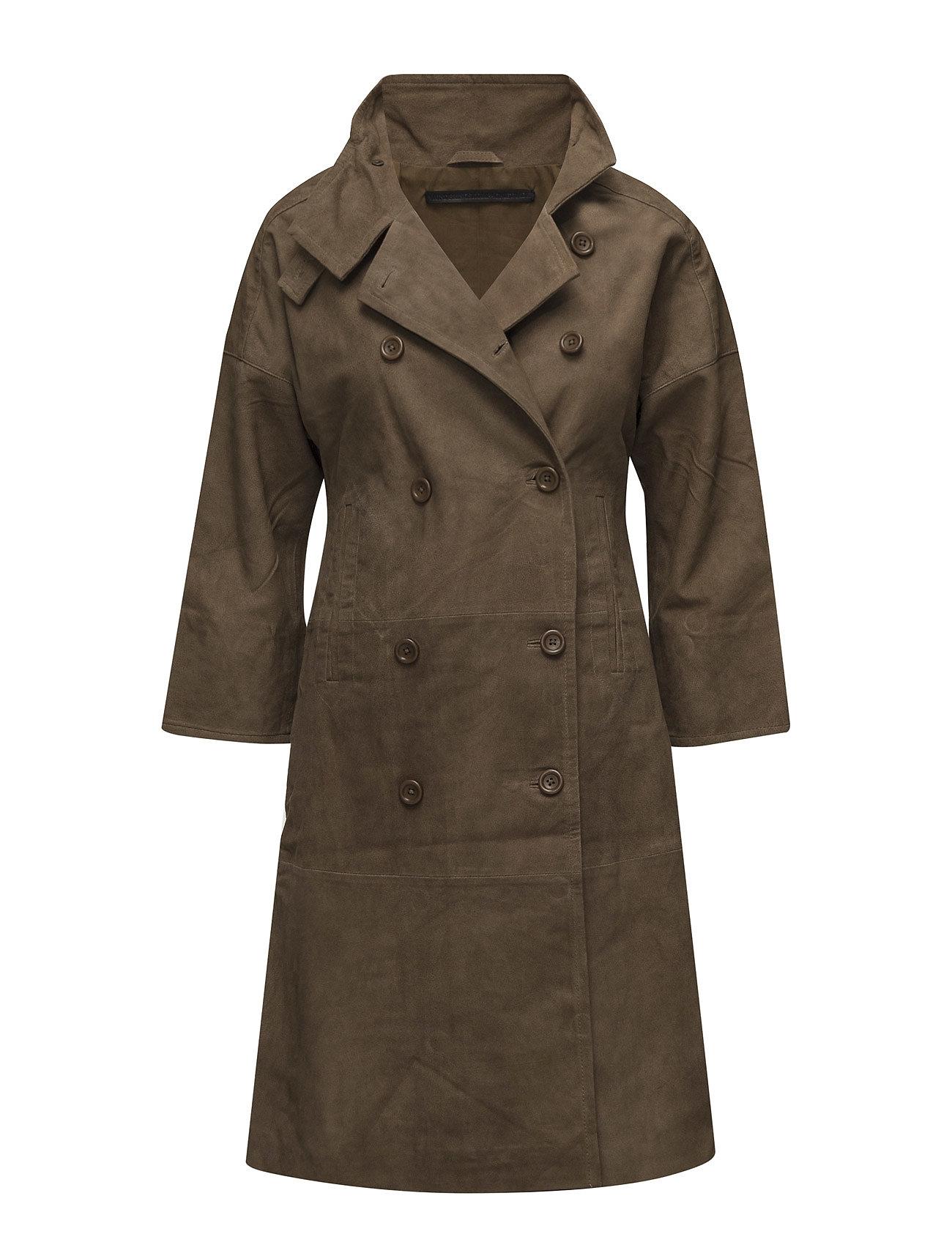 MDK / Munderingskompagniet Neptune goat suede jacket (dirty brown)