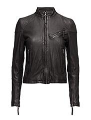 Kassandra Leather Jacket - BLACK