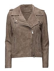 Viola suede jacket - SAND