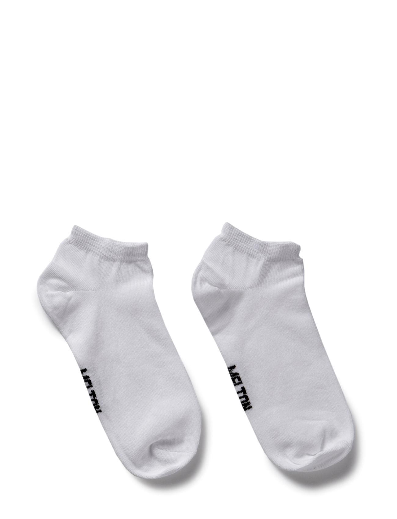 Golf Sock, Plain Colour Melton Strømper & Strømpebukser til Børn i hvid