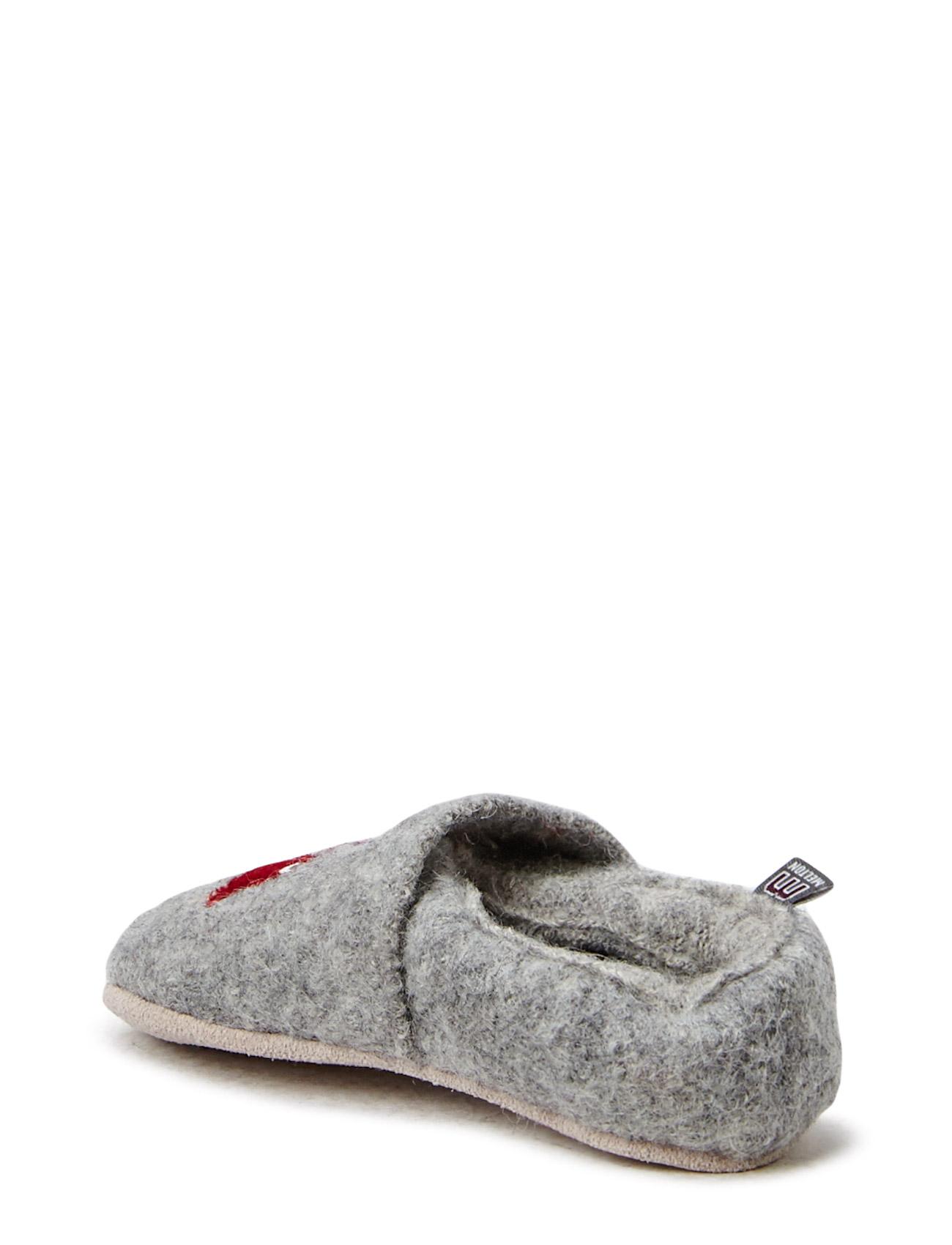 Wool Shoe W/Application Melton Hjemmesko til Børn i