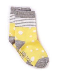 Babysock, Spots - Light grey melange